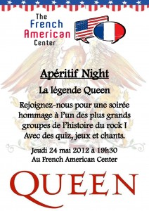 Queen Night - discussions en anglais