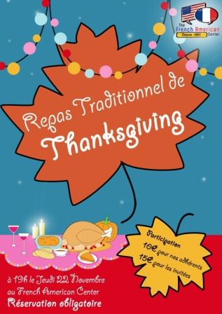 Thanksgiving repas Montpellier
