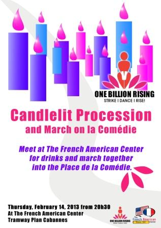 Candleit procession