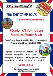 Day Camp Tour