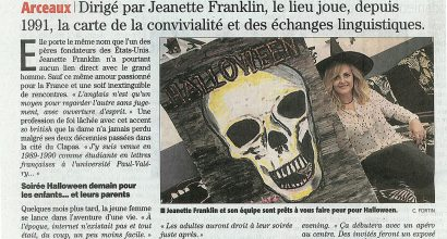Presse - Halloween 2013 avec le French American Center !