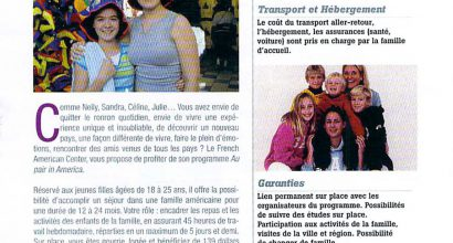 Presse - Au Pair in America - Magazine In City