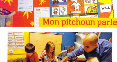 Presse - My Pitchoun Loves English