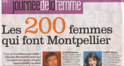 Presse - The 200 Women that make Montpellier