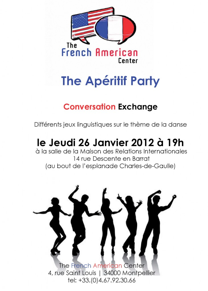 Animations Anglais Montpellier