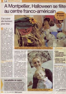 Halloween au French American Center dans la presse