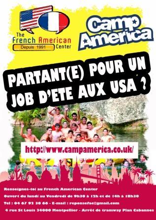 Partir au USA avec le programme Camp America