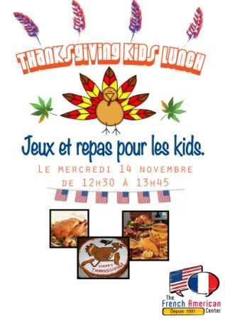 Thanksgiving kids lunch