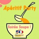 aperitif party soiree soupe