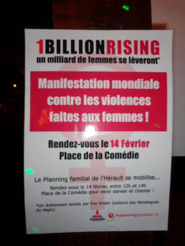 One Billion rising Montpellier