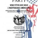 Fête de l'Indépendance Americaine à Montpellier