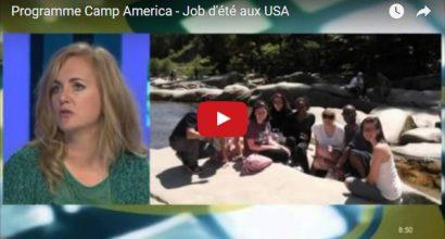 Presse - Vidéo - Partir travailler aux USA avec Camp America et le French American Center