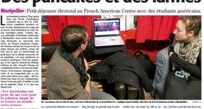 Presse - Election 2016 - Des pancakes et des larmes