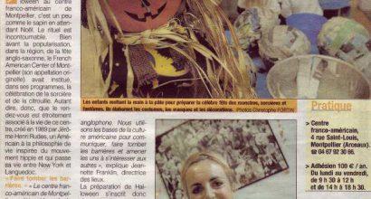 Presse - Halloween se fête au Centre Franco-Américain