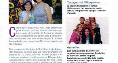 Presse - Au Pair in America - Magazine In City