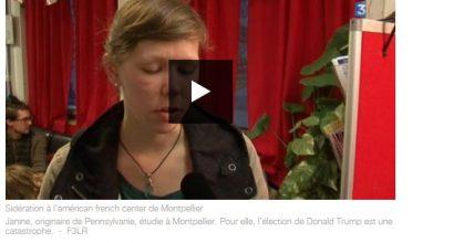 Presse - Donald Trump président : sidération au French American Center de Montpellier