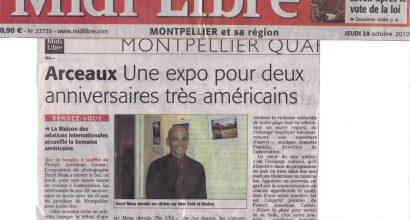 Presse - La Semaine Américaine à Montpellier