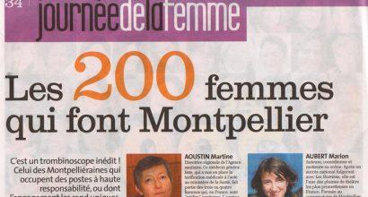 Presse - The 200 Women that make Montpellier