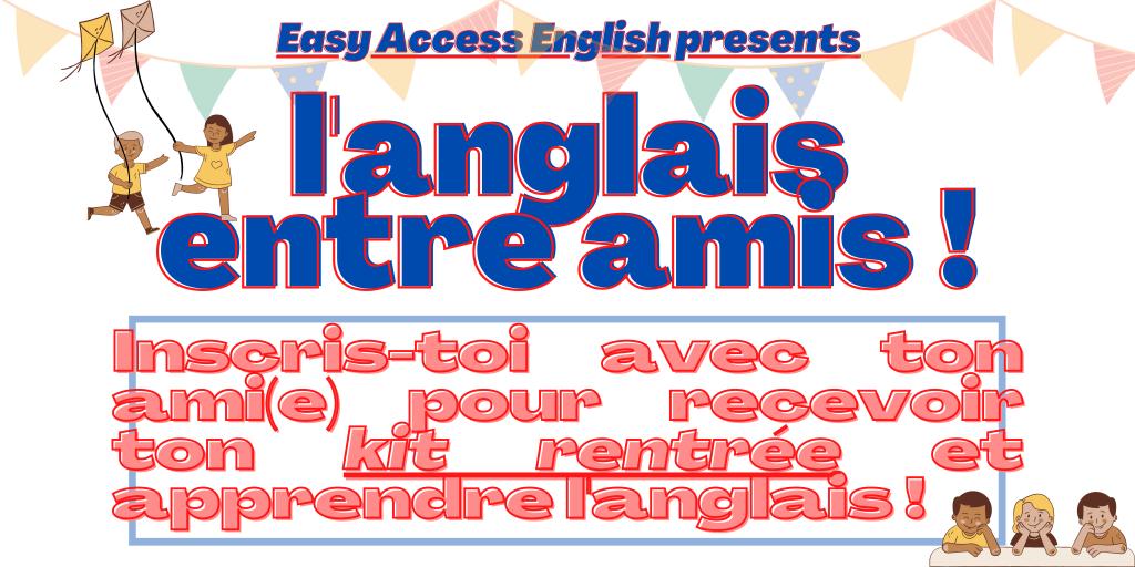 La rentrée scolaire en anglais à Montpellier