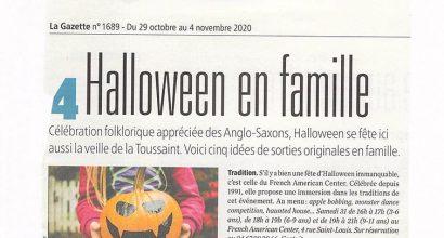 Presse - Halloween en famille