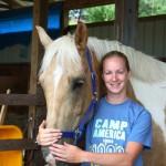 Claire a travaillé aux Etats Unis avec le programme Camp America.